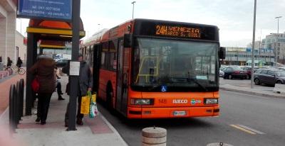 The Porte Di Mestre Venice Shopping Centre Shops Buses